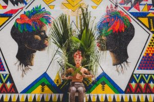 Grafite valoriza a mulher brasileira
