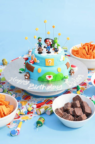 Mario Cake-4