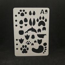 Ayak Izi Stencil Promosyon Tanıtım ürünlerini Al Ayak Izi Stencil