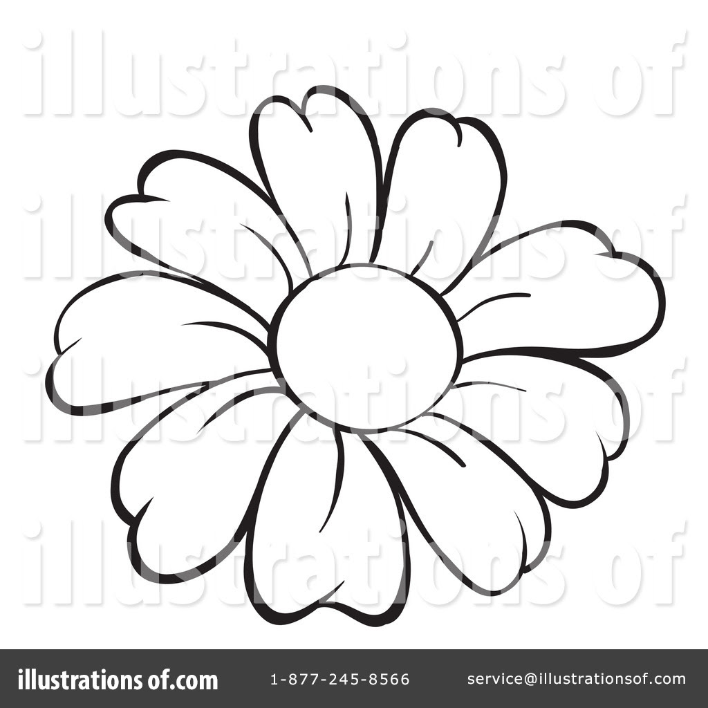 Line Drawing Of Flowers At Getdrawings Free Download