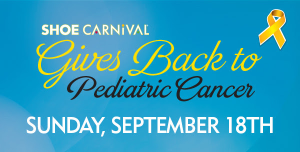 Shoe Carnival Gives back to Pediatric Cancer