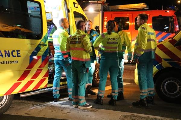 Hulpdiensten uitgerukt voor ongeval met letsel op Maartensdijklaan in Den Haag
