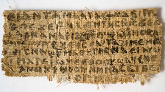 Le papyrus étudié à la Harvard Divinity School jette le doute sur le statut marital de Jésus.