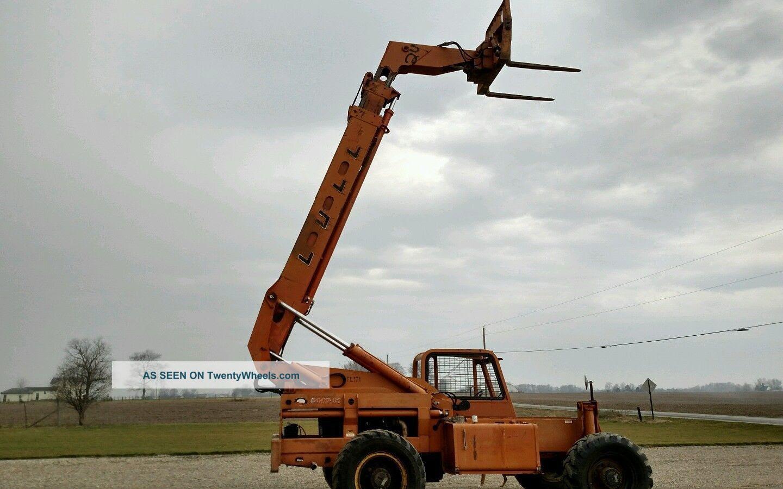 Lull 844c - 43 Fork Lift Telescopic Telehandler 8000 Diesel