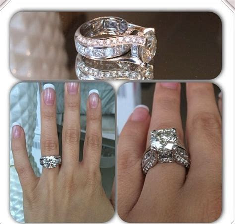 17 Best ideas about Large Wedding Rings on Pinterest
