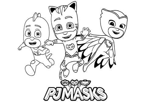 pj masks  children pj masks kids coloring pages