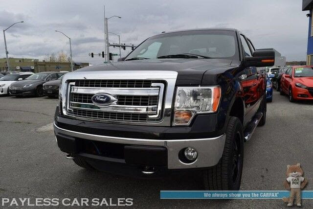 2013 Ford F 150 Xlt 4x4 Ecoboost Crew Cab Auto Start Power Drivers Seat Microsoft Sync Bluetooth Back Up Camera Cruise Control Bed