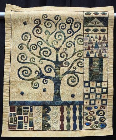 Inspired by Gustav Klimt by Genevieve Grundy