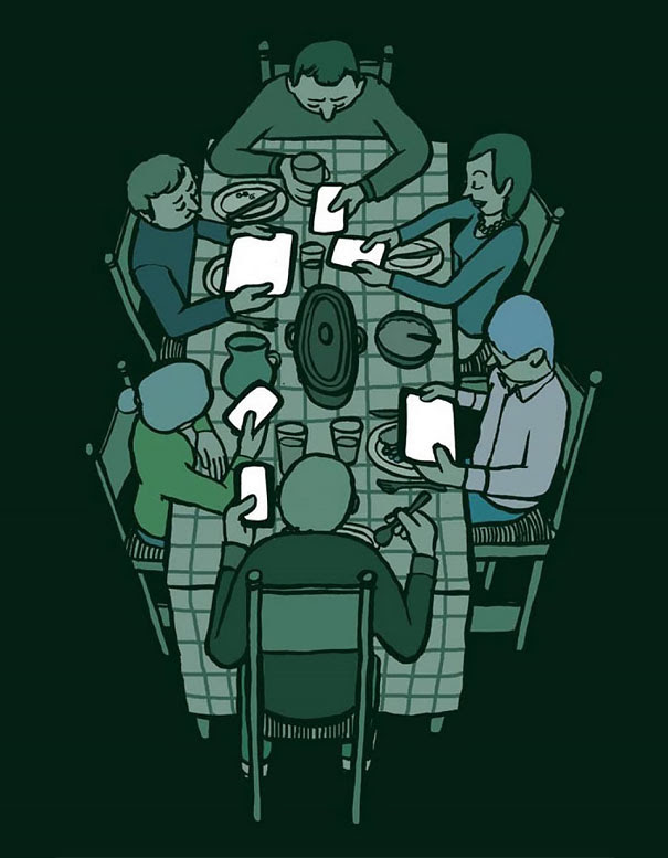 AD-Satirical-Illustrations-Show-Our-Addiction-To-Technology-25