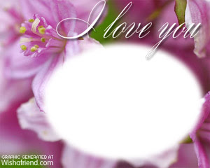 Create Photo Frames Online I Love You