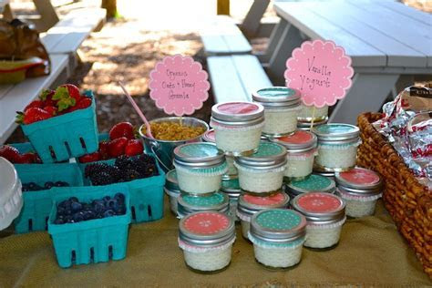 12 Sweet Yogurt Bar Ideas for Your Wedding   Wedding