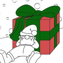 Dibujos Para Colorear De Papa Noel 58 Imágenes Navideñas Para