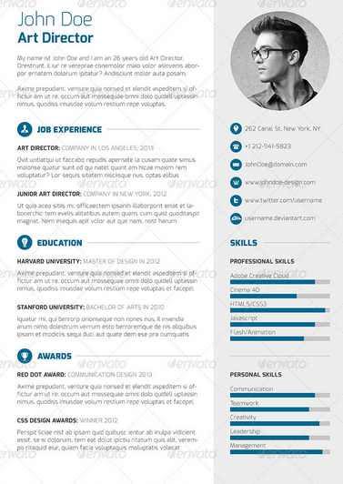 3 Piece Resume CV Cover Letter