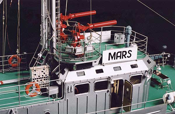 medium size picture model of fire boat Mars