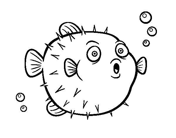 Dibujos Para Colorear Del Mar Peces Dibujos Para Colorear