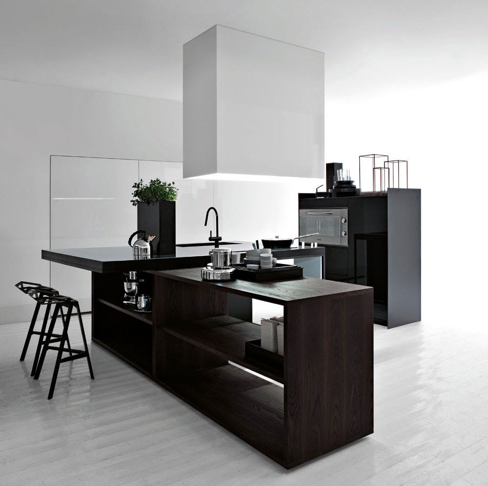 ... Cucine. Black an