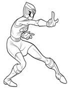 Dibujos De Power Rangers Para Colorear Páginas Para Imprimir Y