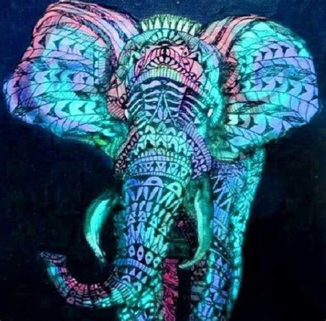Lsd, Neon, Trippy, Elephants, Drugs / photos, images, bild