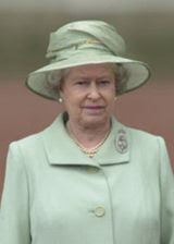 HM Queen: Scythed down without ceremony (ironically, at a ceremony)