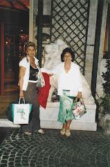 Ketti Bosco, Presidente dell'Acr il sanremese con la ns responsabile di Roma Olga Stella Cometa!