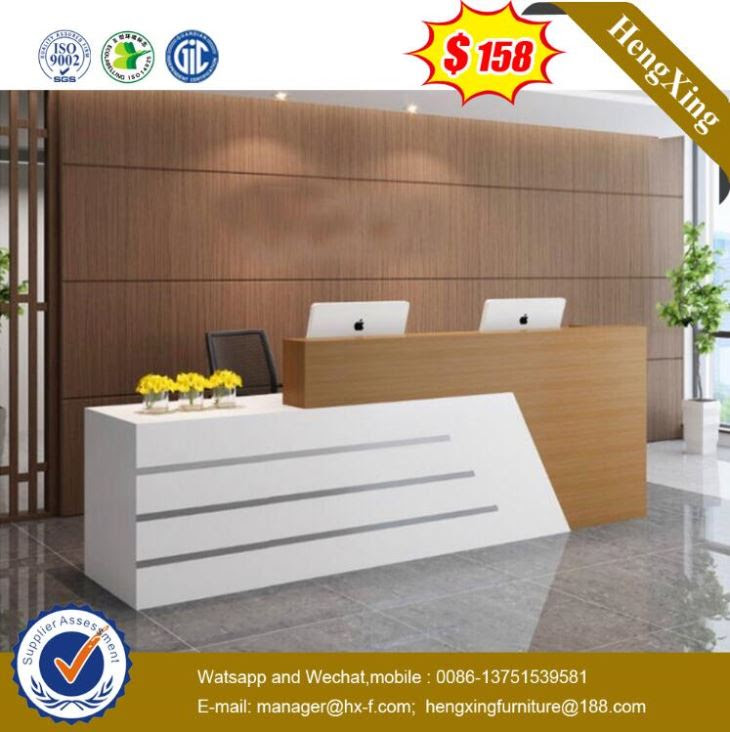 Customized 2016 Modern Reception Counter Design Reception Desk For