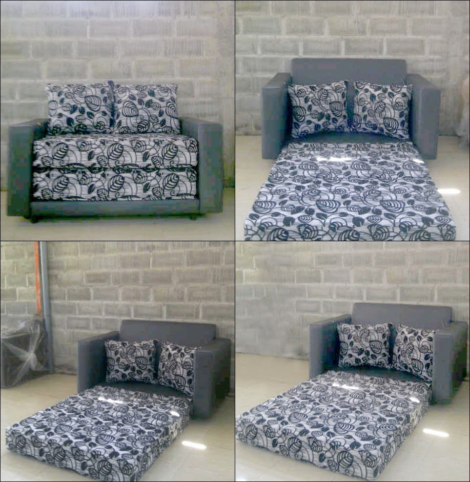 863 ALL NEW SOFA BED MINIMALIS MURAH SURABAYA Sofa Tamu