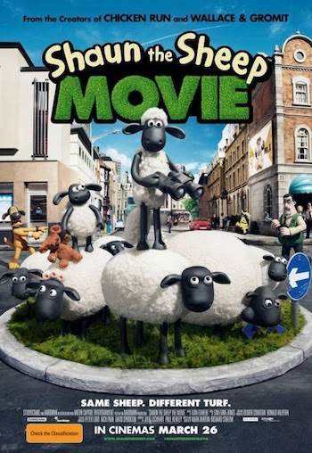 Shaun the Sheep Movie 2015 Dual Audio Hindi 720p 480p BluRay 850mb And 280mb