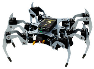 Ubuntu powered six legged spider drones to be available from December