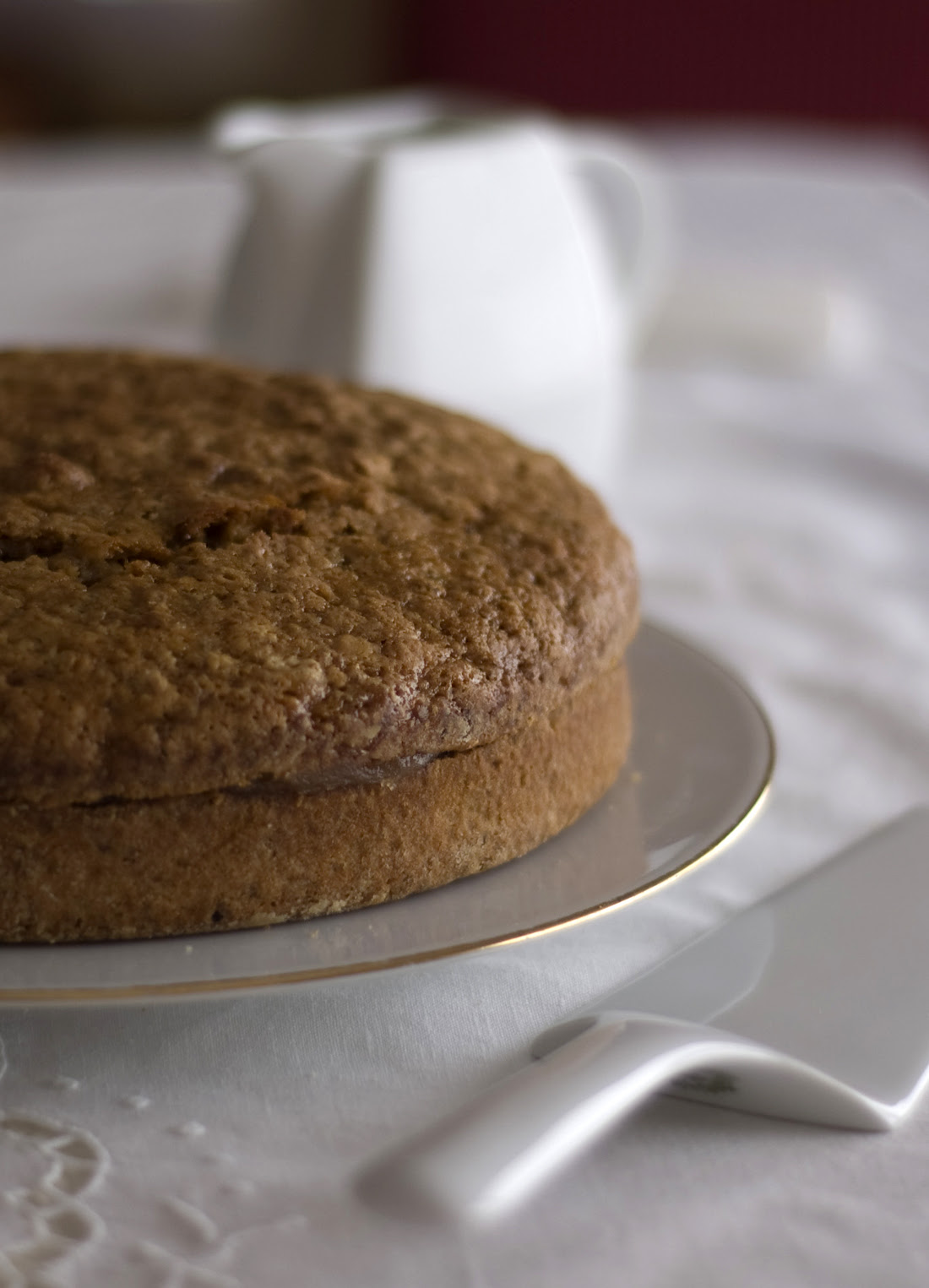 Bolo de castanhas e nozes // Chestnut and Walnut Cake