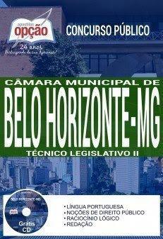 Apostila Câmara de Belo Horizonte - Técnico Legislativo