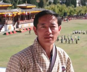 Lhendup Tharchen, wildlife biologist from the tiny Himalayan Kingdom of Bhutan working to save snow leopards and tigers in the only habitat in the world where the two big cats overlap. Photo (c) WildCru.