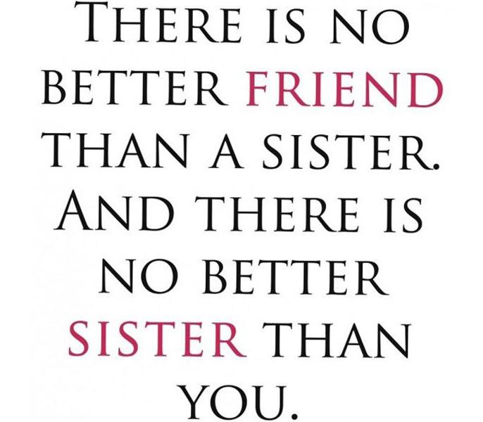 15 lieve quotes die je z\u00f3 naar je zus kan sturen