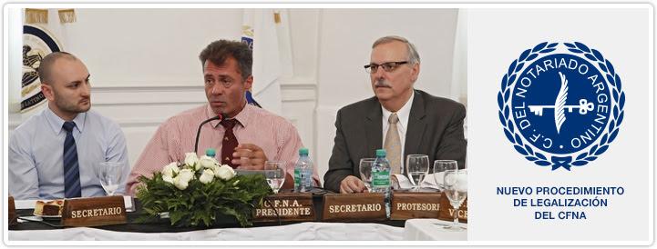 Nuevo Procedimiento de Legalización del CFNA