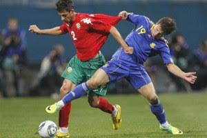 Украина сыграет с Болгарией