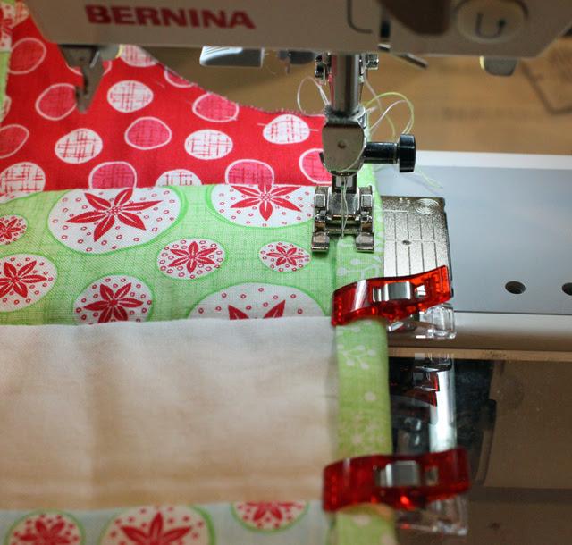 binding front stitch start