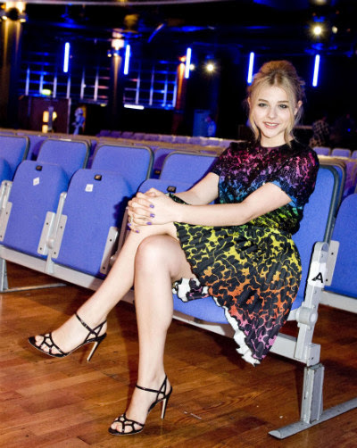 chloe3 Chloe Moretz in Christopher Kane