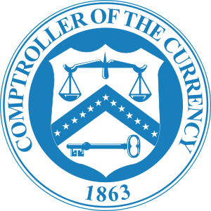 Seal of the United States Office of the Comptr...