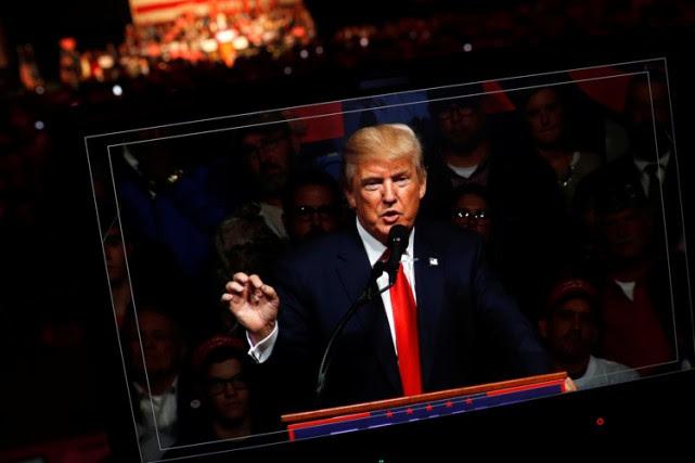 Donald Trump a promis dans une vidéo diffusée... (ARCHIVES REUTERS)