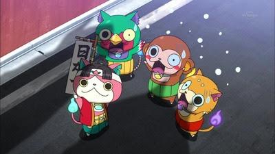 アニメ妖怪ウォッチ 第93話 カオスすぎだろモモタロニャン回www