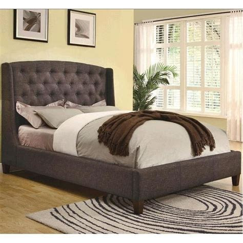 king  profile upholstered bed nebraska furniture mart