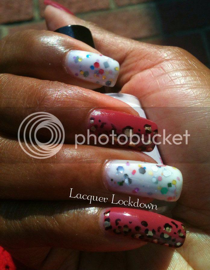 Darling Diva Polish Leopard Manicure