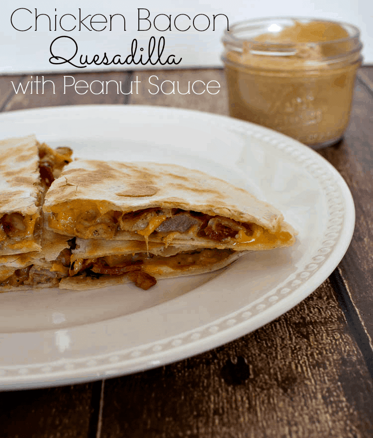 Chicken Bacon Quesadilla #PackedwithSavings #shop