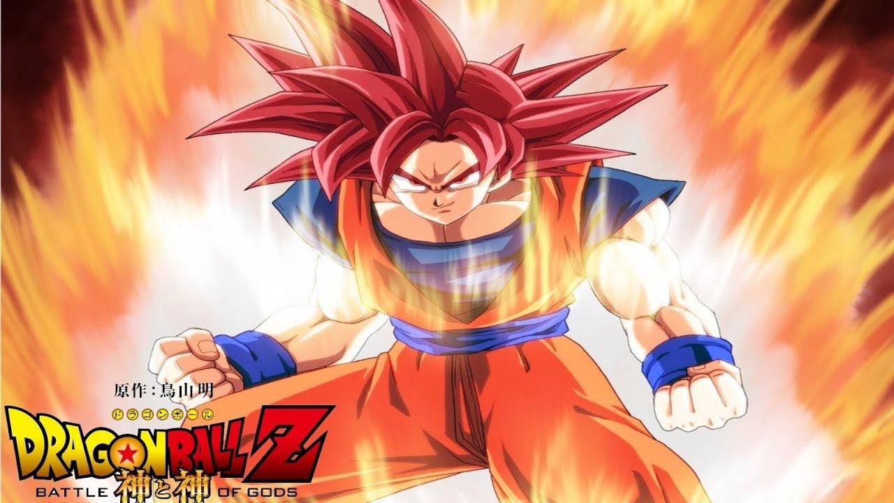 Dragon Ball Goku Super Saiyan God Wallpaper Important Wallpapers