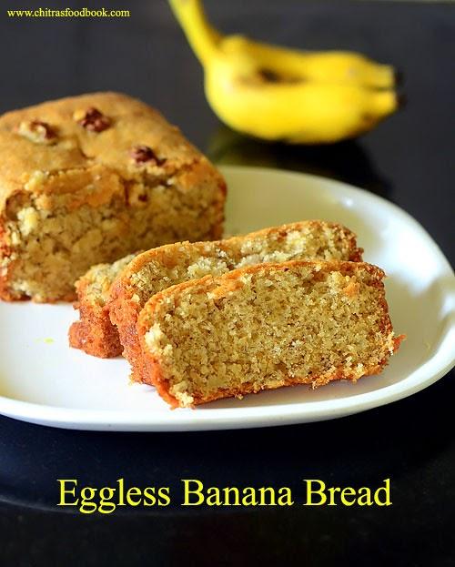 Eggless Banana Bread Cakes