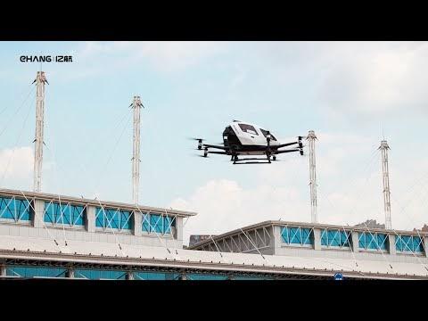 O táxi aéreo autônomo está chegando