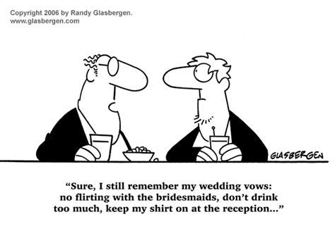 Funny Wedding Comics Archives   Randy Glasbergen
