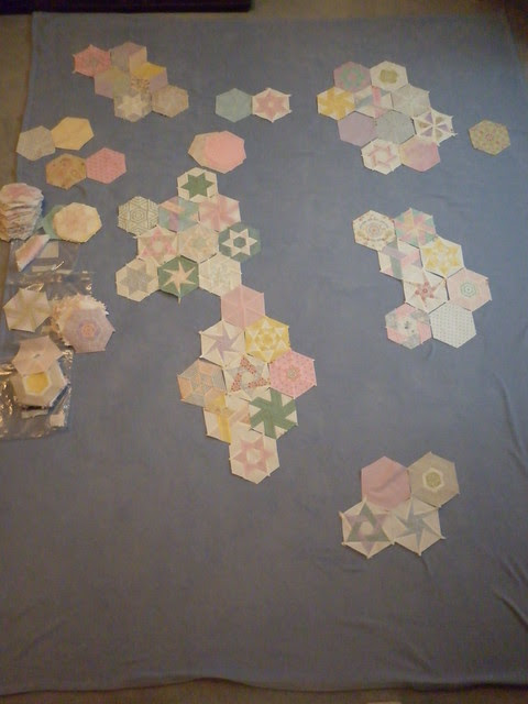 Arranging hexies 2