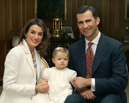 Los Príncipes de Asturias serán padres de otra niña
