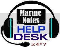 Marine Notes Help Desk