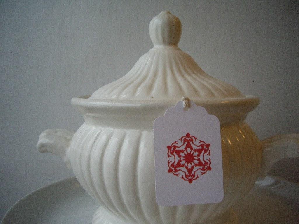 Scandinavian Snowflake Gift Tags